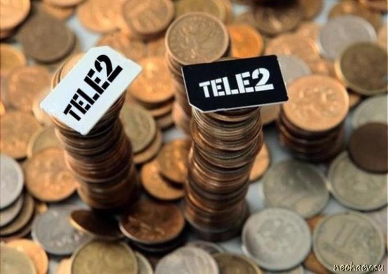 2 СИМ-карты Теле2 на монетах