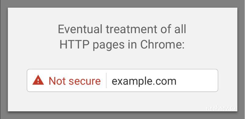 HTTPS не защищено