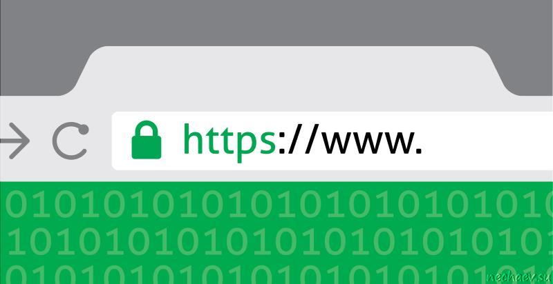 HTTPS в строке браузера