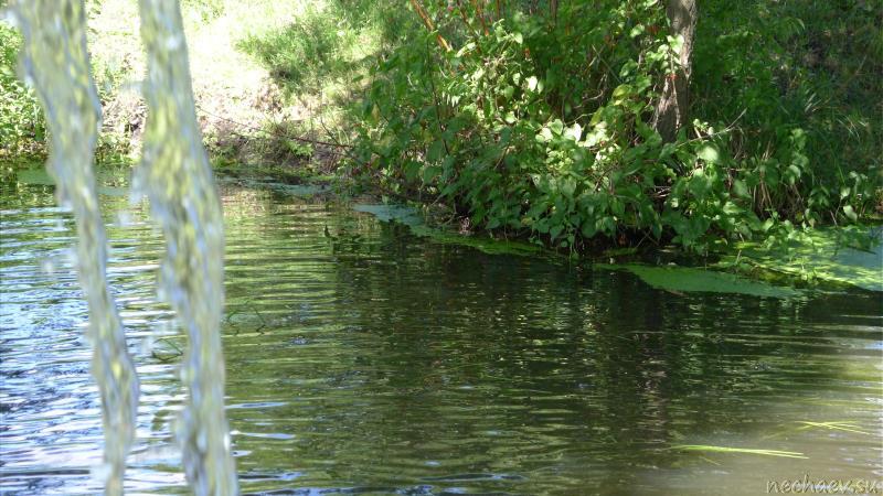 Водопад на речке