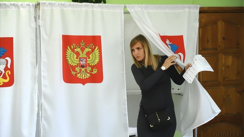Кабинка на избирательном участке